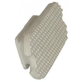 Planchers étriers blanc
