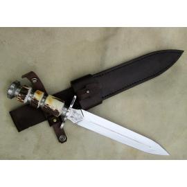 La forge de Brian dague gravée