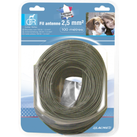 Fil antenne 100m 2.5mm Lacme