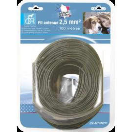 Fil antenne 100m - 2.5 mm²