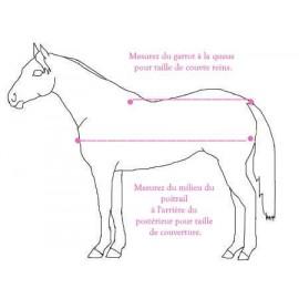 couverture polaire cheval