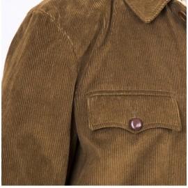 Veste de veneur en velours, veste de piqueux, valet de chien