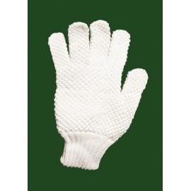 Gant de vènerie en coton blanc