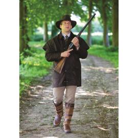 veste de chasse avec cape