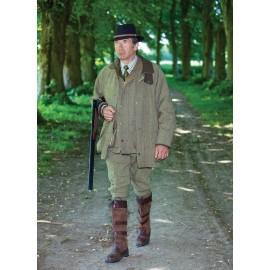 Veste de chasse en tweed