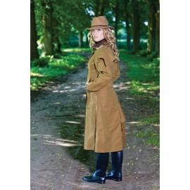 Manteau de chasse coton huilé