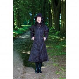Manteau huilé pour femme