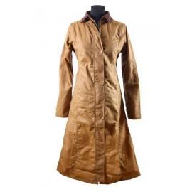 Manteau en coton huilé