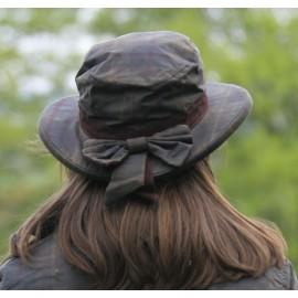 Chapeau coton huilé Sisca