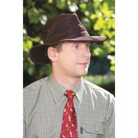 Chapeau en coton huilé