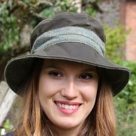 Chapeau huilé femme
