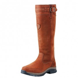 Botte cuir waterproof homme