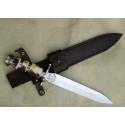 Dague et couteau
