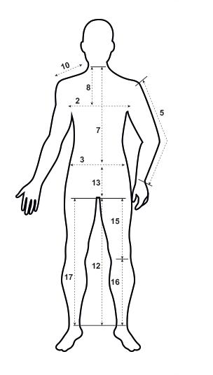 prise de mesure confection pantalon de venerie